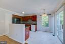 Kitchen Island - 301 KNOLLWOOD CT, STAFFORD