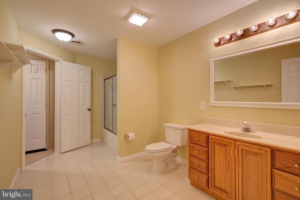 Lower Level Full Bathroom - 18990 LOUDOUN ORCHARD RD, LEESBURG