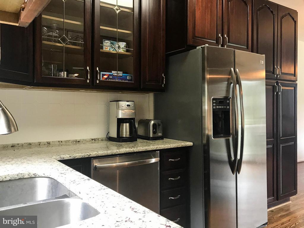 Kitchen with Stainless Steel Appliances - 18990 LOUDOUN ORCHARD RD, LEESBURG