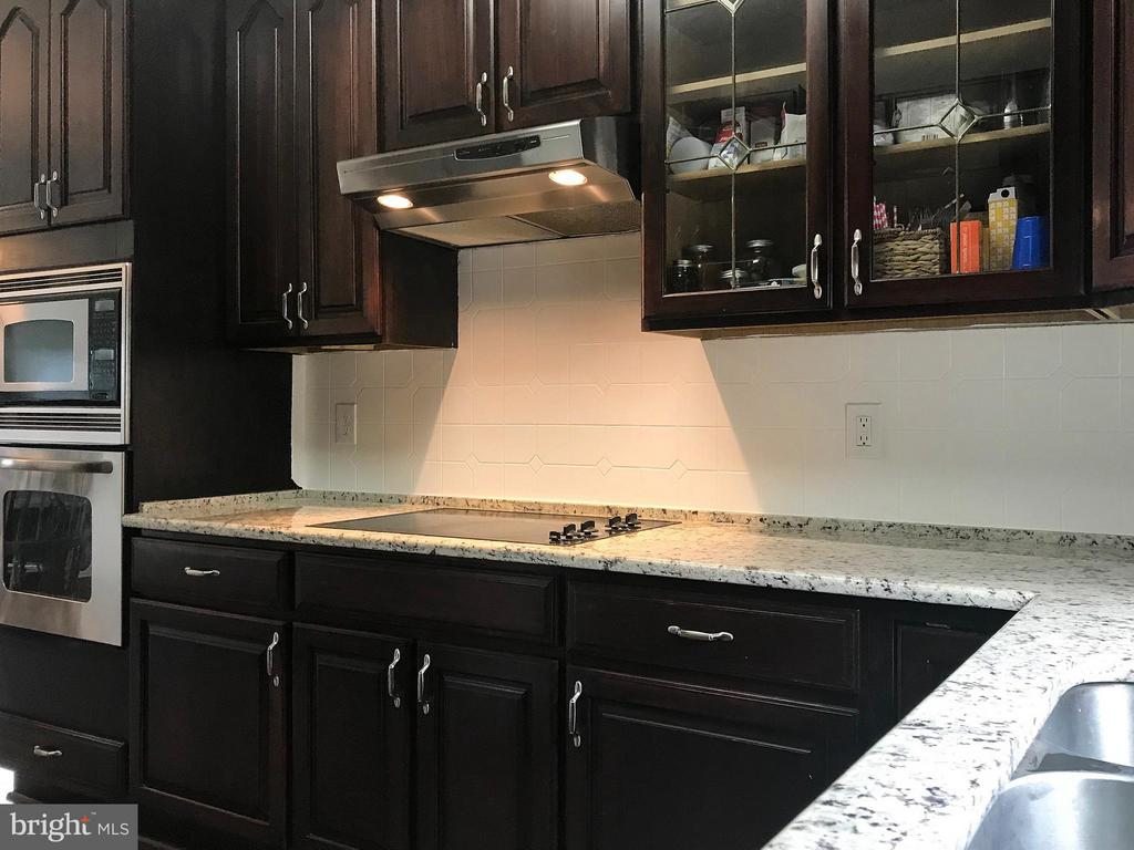 Kitchen with granite countertops - 18990 LOUDOUN ORCHARD RD, LEESBURG