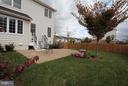 Fenced in backyard-Alt view - 301 ADDIVON TER, PURCELLVILLE