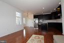 Family Room overlooking kitchen - 301 ADDIVON TER, PURCELLVILLE