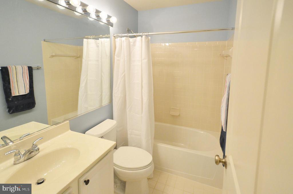 Full Bath in the Basement - 23382 HIGBEE LN, ASHBURN