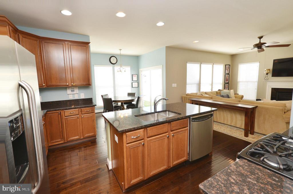 Lovely Kitchen - 23382 HIGBEE LN, ASHBURN