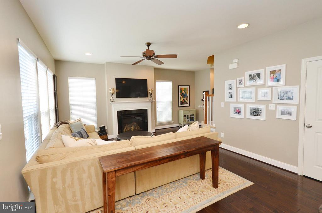 Cozy Family Room - 23382 HIGBEE LN, ASHBURN