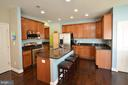 Lovely Open Kitchen - 23382 HIGBEE LN, ASHBURN