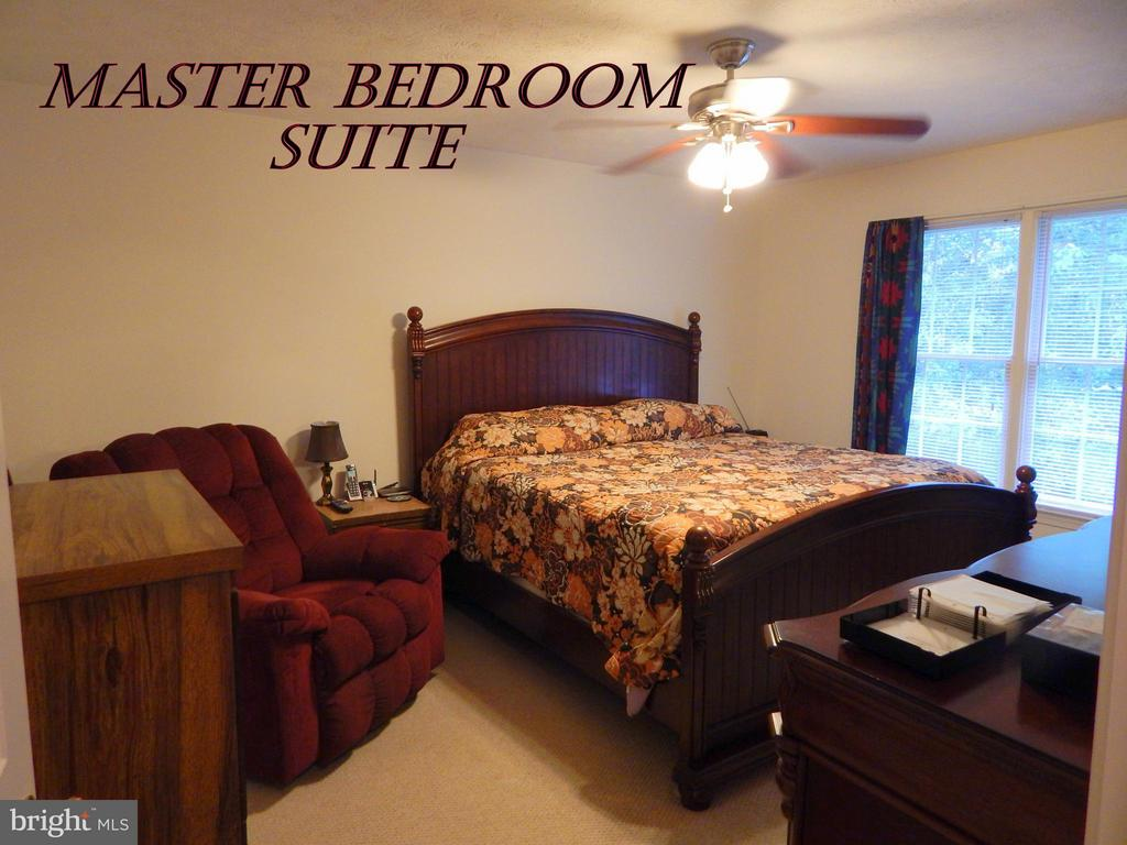 MBR w/CF and room for large furniture. W/I closet. - 11604 BRIAN DR, FREDERICKSBURG