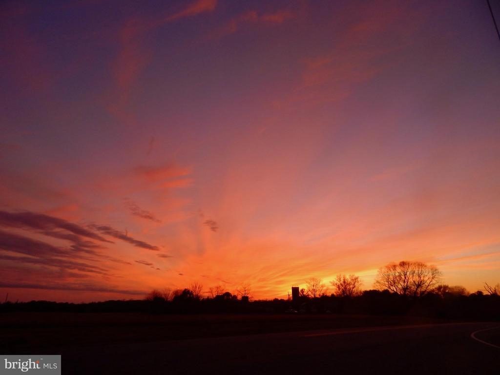 Sunset view at Gordon and Chancellor Rds.. - 11604 BRIAN DR, FREDERICKSBURG