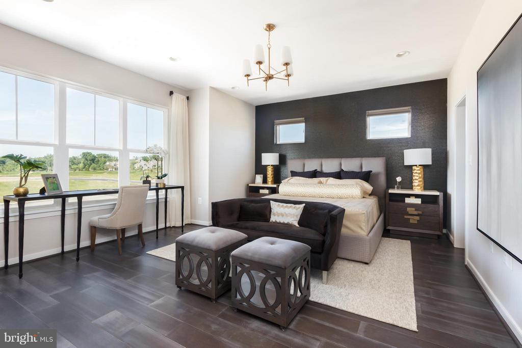 Bedroom (Master) - 22962 CLARENCE WALK TER #LOT 5373, BRAMBLETON