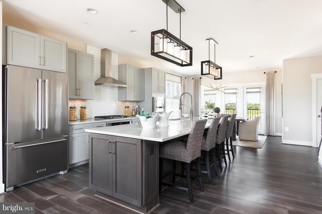 Kitchen - 22962 CLARENCE WALK TER #LOT 5373, BRAMBLETON