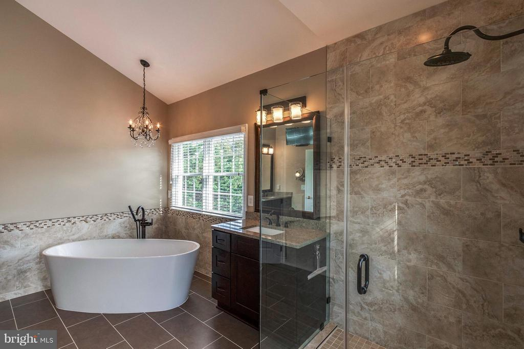Newly Reno'd MBA w/ Soaking Tub & Glass Shower - 19917 INTERLACHEN CIR, ASHBURN