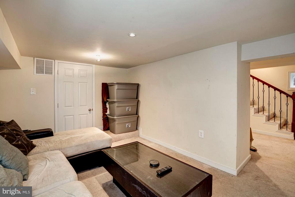 Basement/TV room/Playroom - 514 EASTERN AVE NE, WASHINGTON