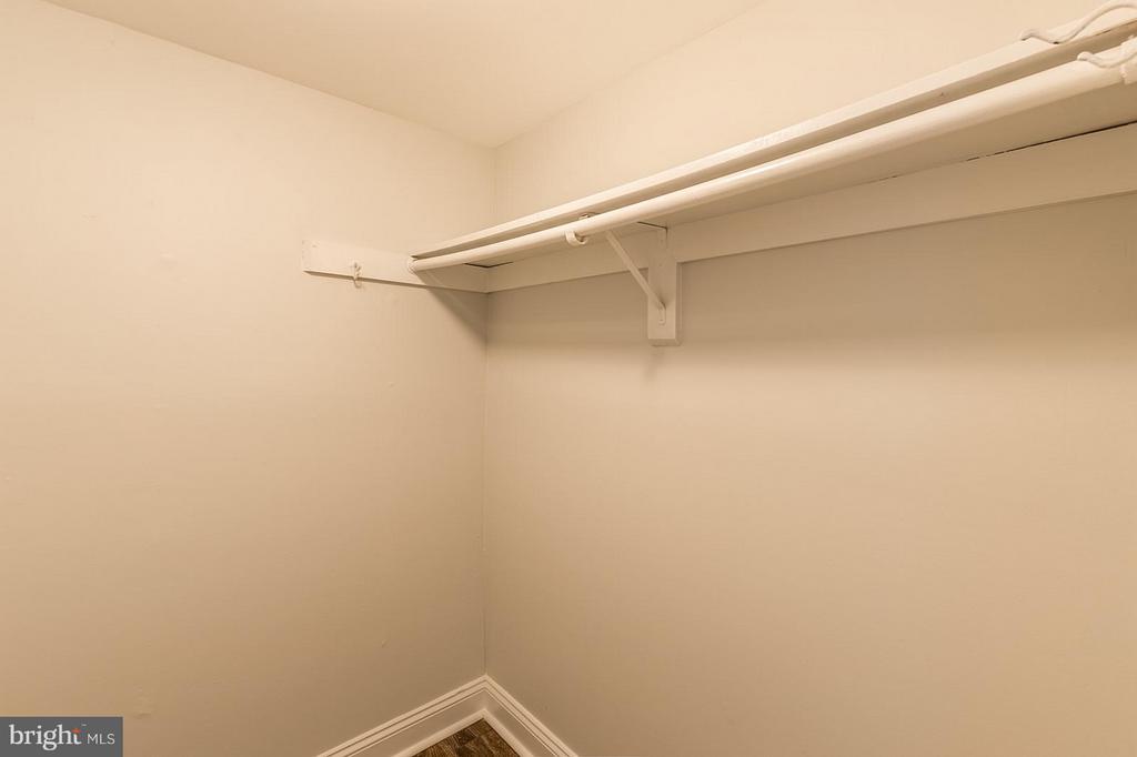Walk-in Closet - 3808 LARAMIE PL #B, ALEXANDRIA