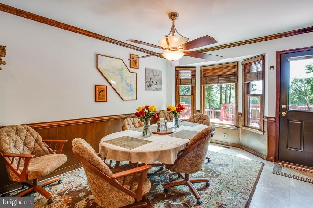 Dining Room - 3725 BREAKNOCK RD, BUMPASS