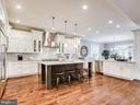 Gorgeous Italian Marble Backsplash and Countertop - 9222 BRIAN DR, VIENNA