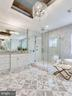 Luxurious All Italian MARBLE Bath - 9222 BRIAN DR, VIENNA