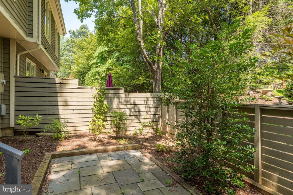 Private patio off kitchen - 1942 LAKEPORT WAY, RESTON