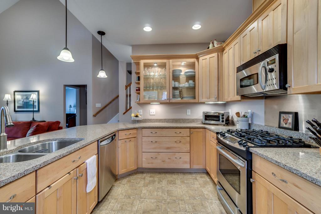 UPDATED KITCHEN - 102 HARRISON CIR, LOCUST GROVE