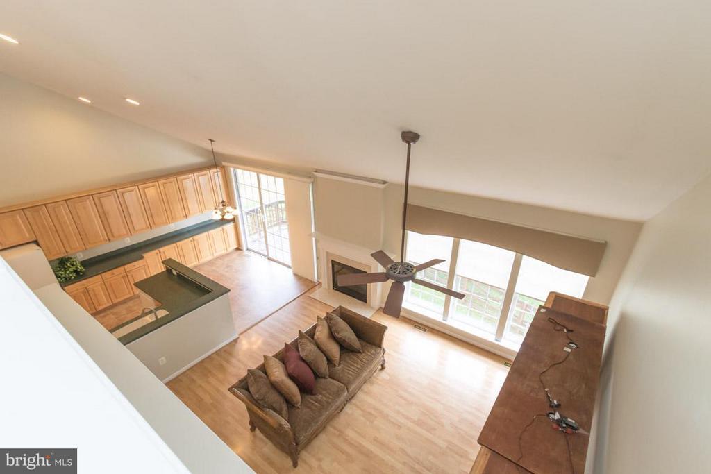 View from the optional loft - 12165 EDDYSTONE CT, WOODBRIDGE