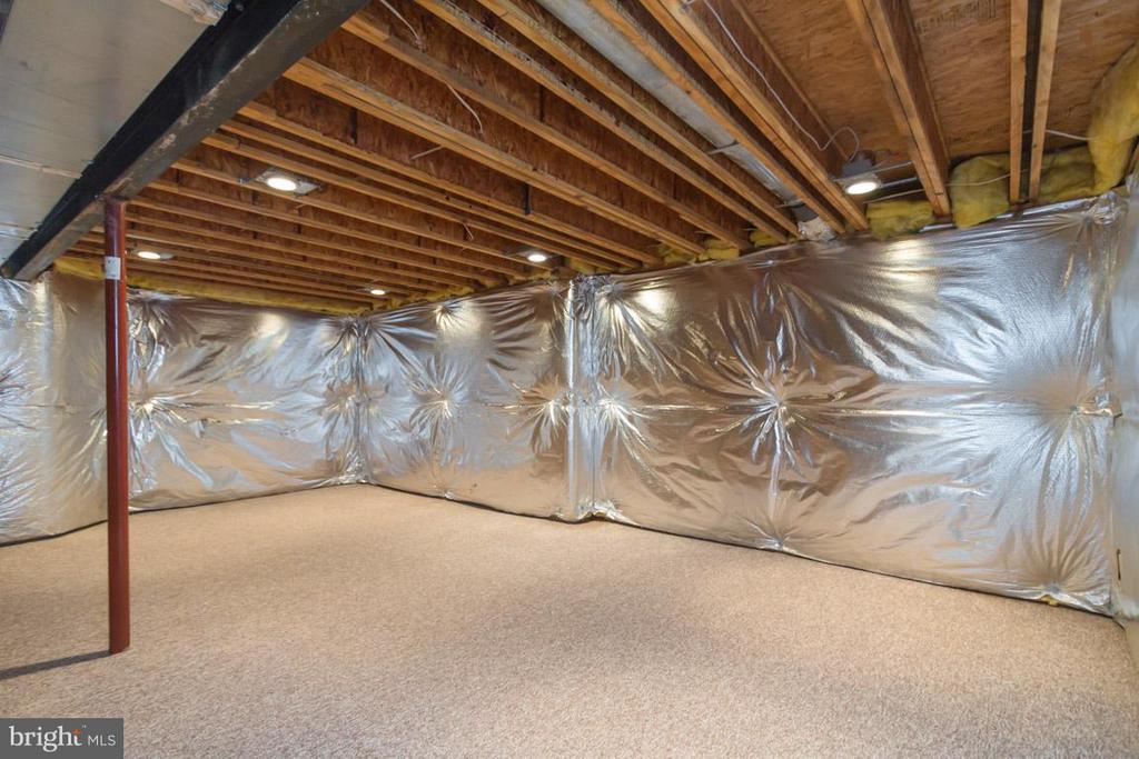 Carpeted exercise room w/recessed lights - 12165 EDDYSTONE CT, WOODBRIDGE