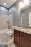 Basement Bath - 6012 FOX HAVEN CT, WOODBRIDGE