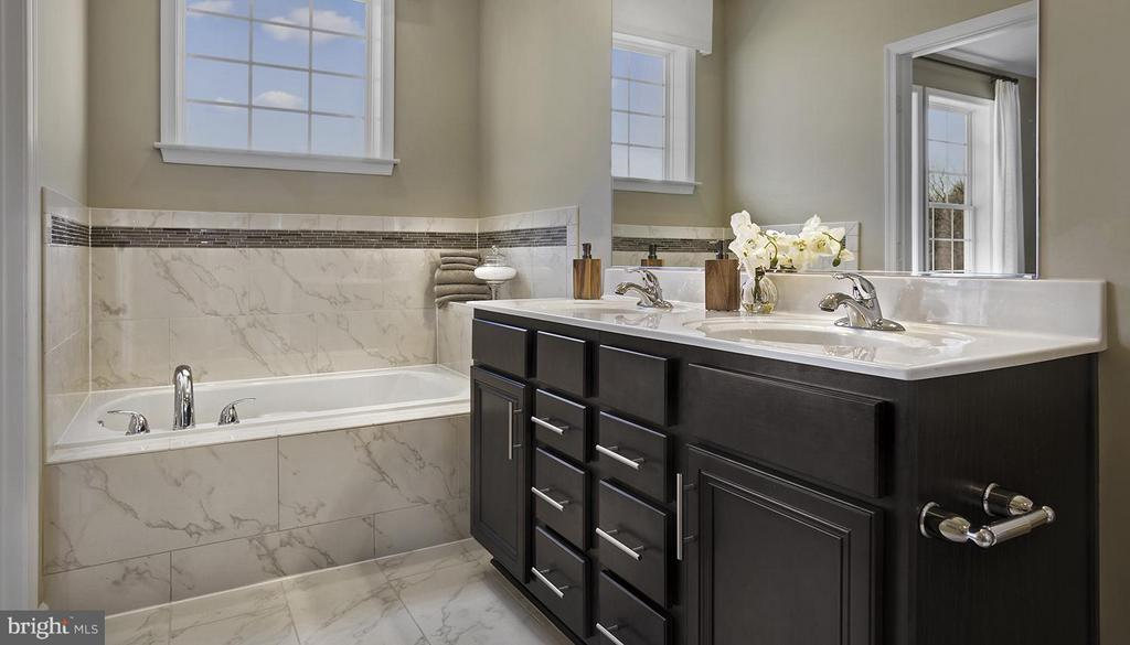 Bath (Master)*Photo Similar Construction* - 0 FOX STREAM WAY #CAMDEN II, UPPER MARLBORO