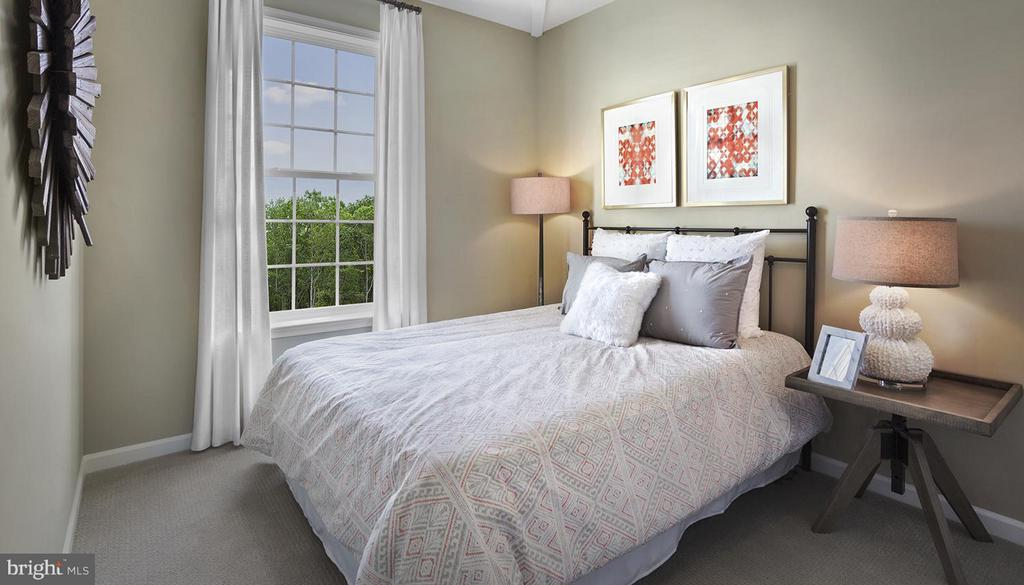 Bedroom *Photo Similar Construction* - 0 FOX STREAM WAY #CAMDEN II, UPPER MARLBORO