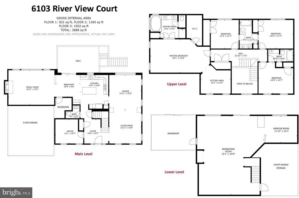 Floor Plan - 6103 RIVER VIEW CT, FREDERICK