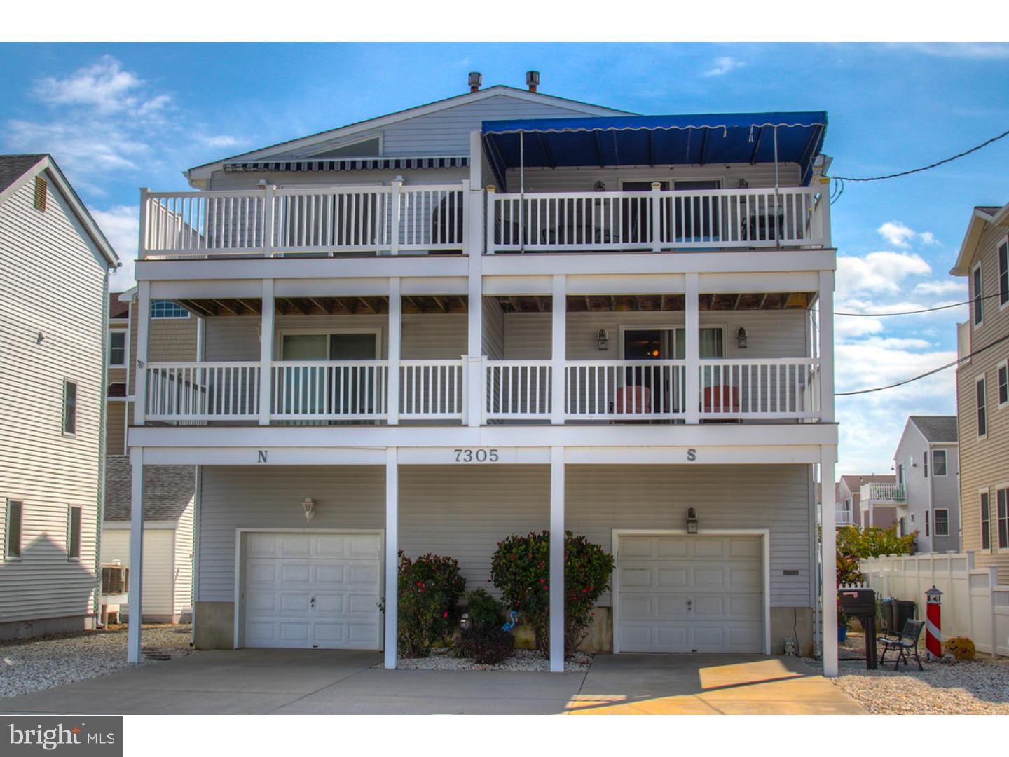 Single Family Home for Sale at 7305 CENTRAL AVE #SOUTH Sea Isle City, New Jersey 08243 United States
