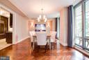 Dining room - 1111 23RD ST NW #2B, WASHINGTON