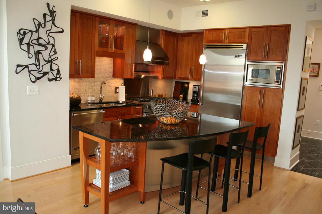 Kitchen - 4301 MILITARY RD NW #PH4, WASHINGTON