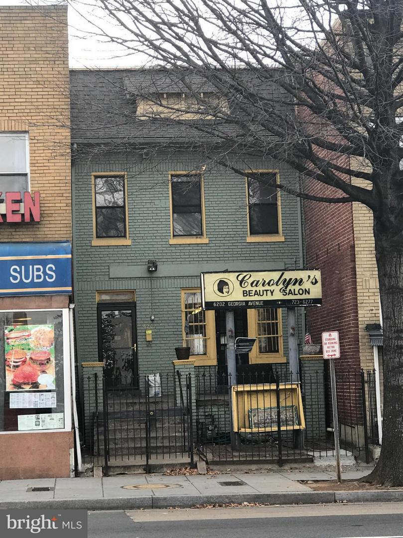 Commercial for Sale at 6202 Georgia Ave NW Washington, District Of Columbia 20011 United States