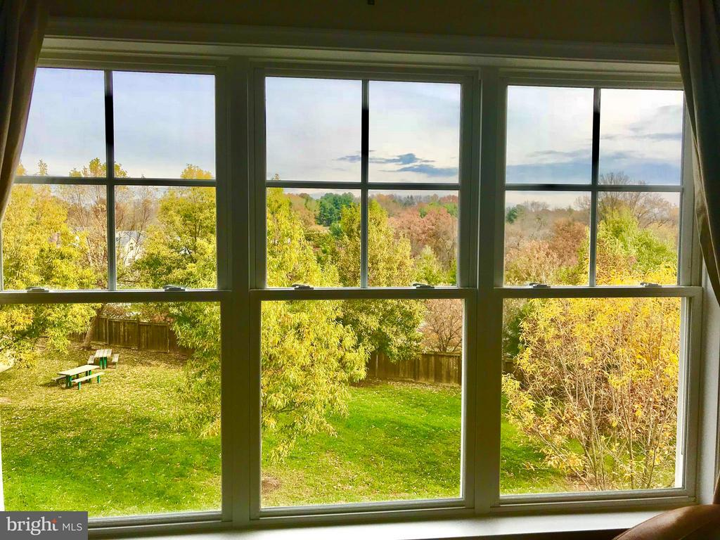 View from Master bedroom - 23359 RAINBOW ARCH DR, CLARKSBURG