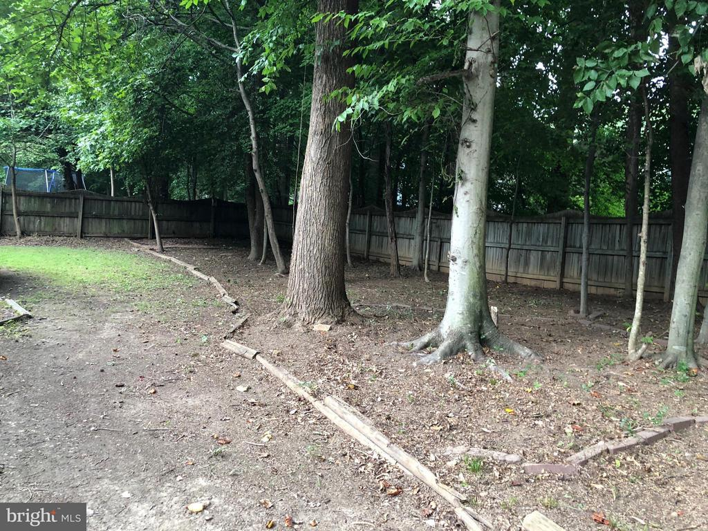 Private Backyard - 10712 BIG OAKS CT, SPOTSYLVANIA