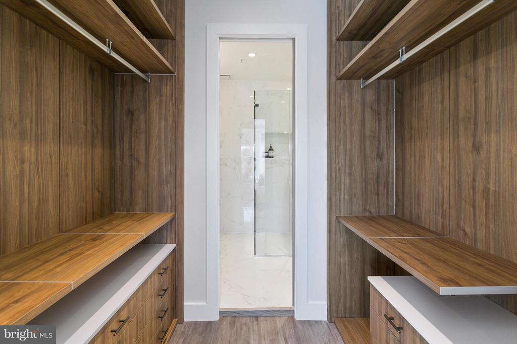 Master Walk-In Closet - 1777 T ST NW #PH5, WASHINGTON