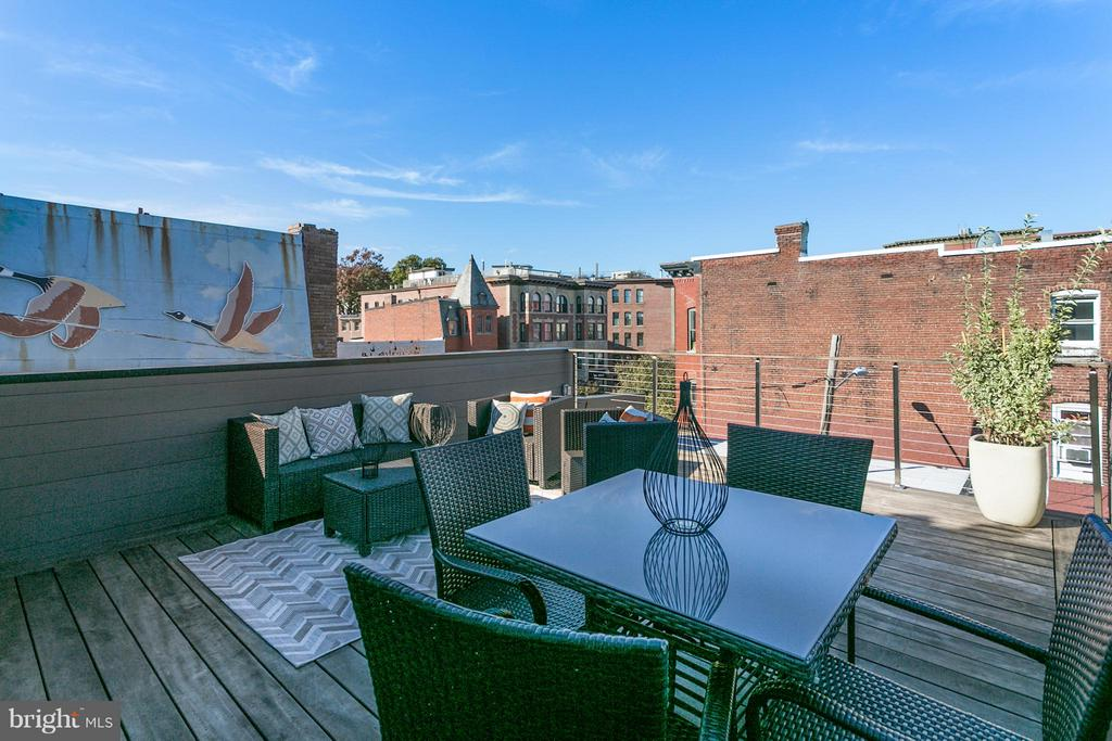 Private Roof Deck - 1777 T ST NW #PH5, WASHINGTON