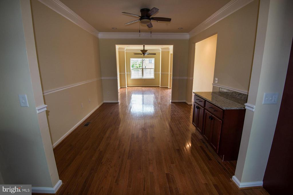 Living Room and Dining Room - 5124 C ST SE, WASHINGTON