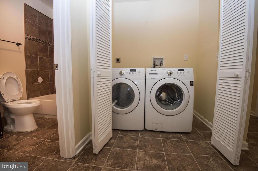 Laundry Room and Bath - 5124 C ST SE, WASHINGTON