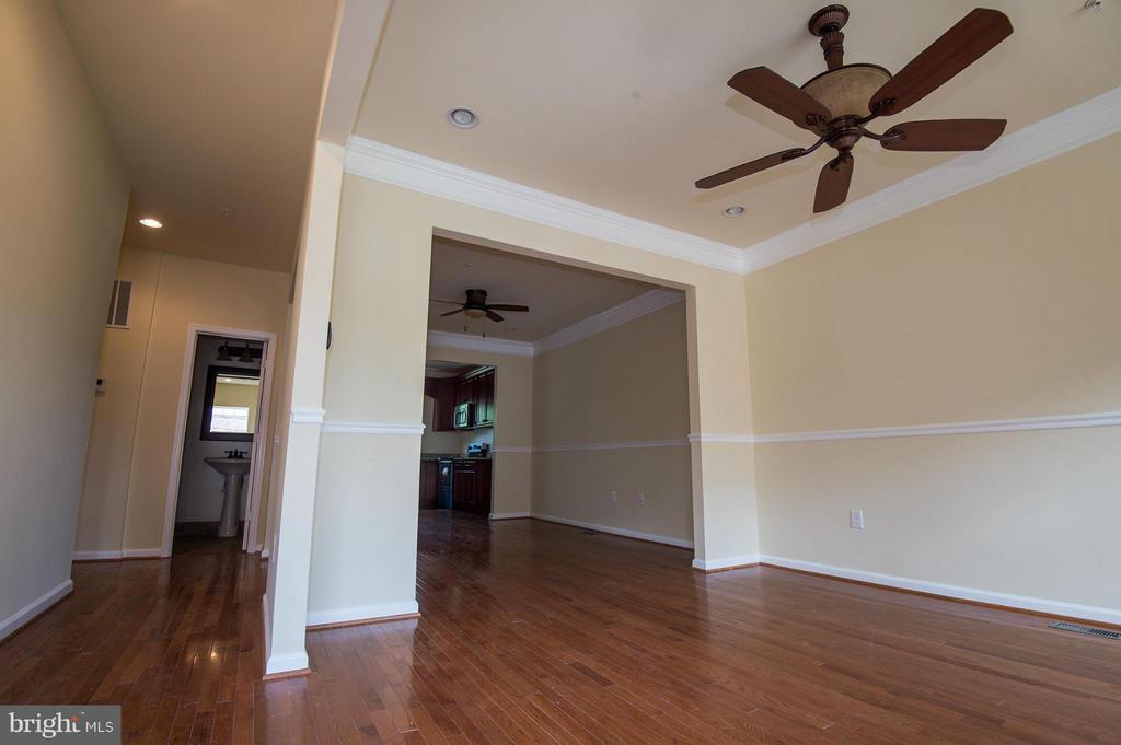 Living Room/Dining Room - 5124 C ST SE, WASHINGTON