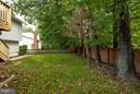 Back Yard - 9503 YAWL CT, BURKE