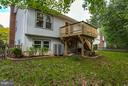 Deck - 9503 YAWL CT, BURKE