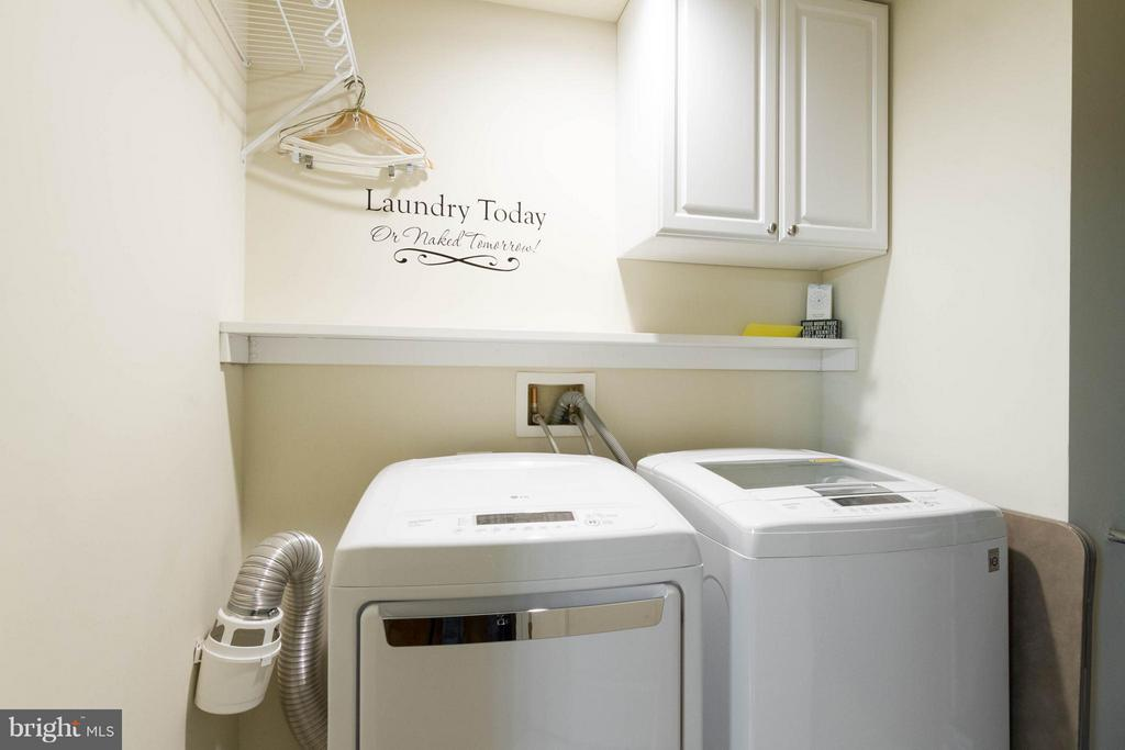 Separate Laundry room - 525 BELMONT BAY DR #103, WOODBRIDGE