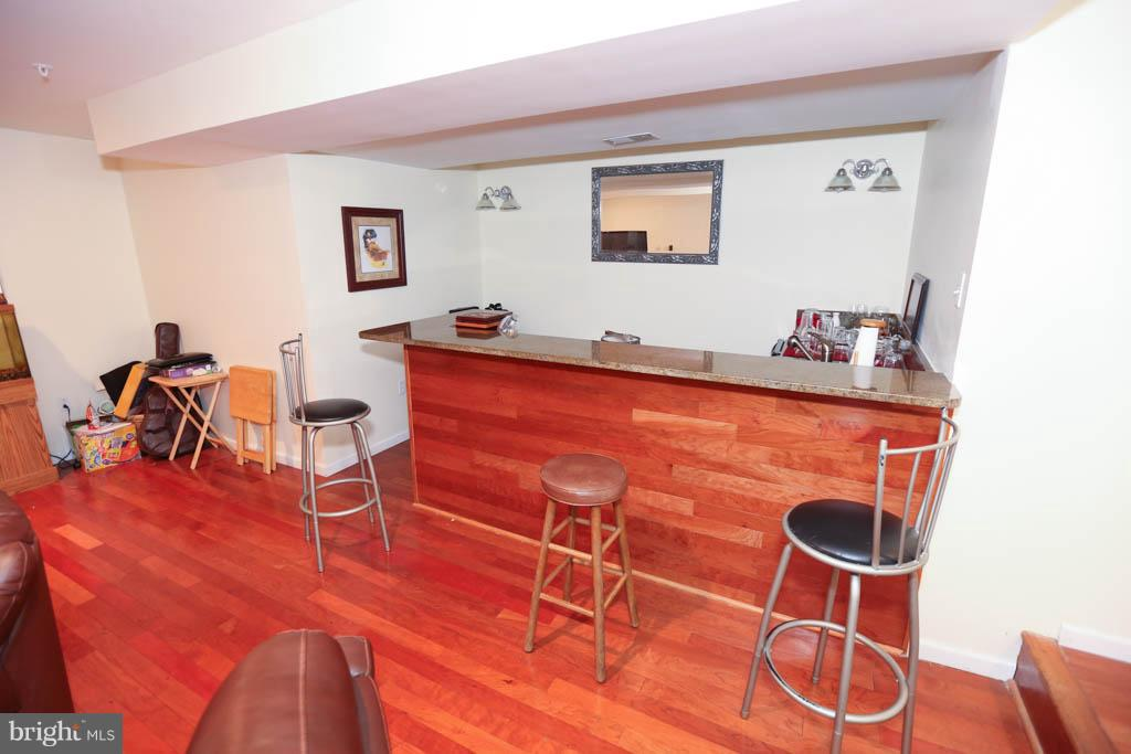 Built in bar (Basement) - 13117 SHINNECOCK DR, SILVER SPRING