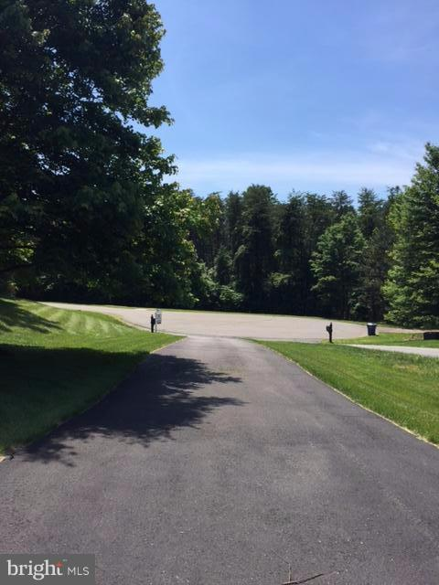 The beautiful view looking down the driveway. - 10106 DECKHAND DR, BURKE