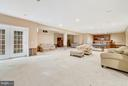 Basement - Mostly finished - 27429 BRIDLE PL, CHANTILLY