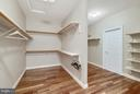 Walk-In Closet PLUS additional sitting room - 27429 BRIDLE PL, CHANTILLY