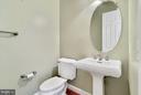 Main level half bath - 27429 BRIDLE PL, CHANTILLY