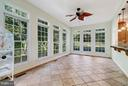 Sunroom off of kitch - 27429 BRIDLE PL, CHANTILLY
