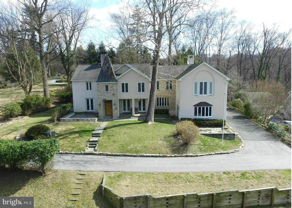 Stone and Stucco French Country - 1023 WAGNER RD, TOWSON