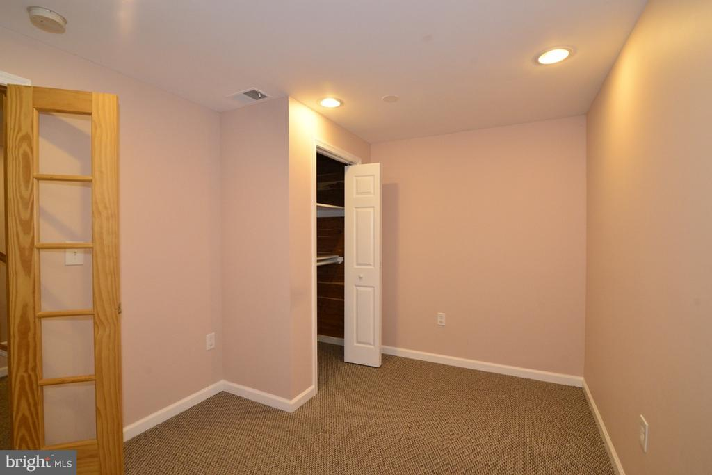 Study Lower Level with closet and Window - 11206 BRADBURY LN, RESTON